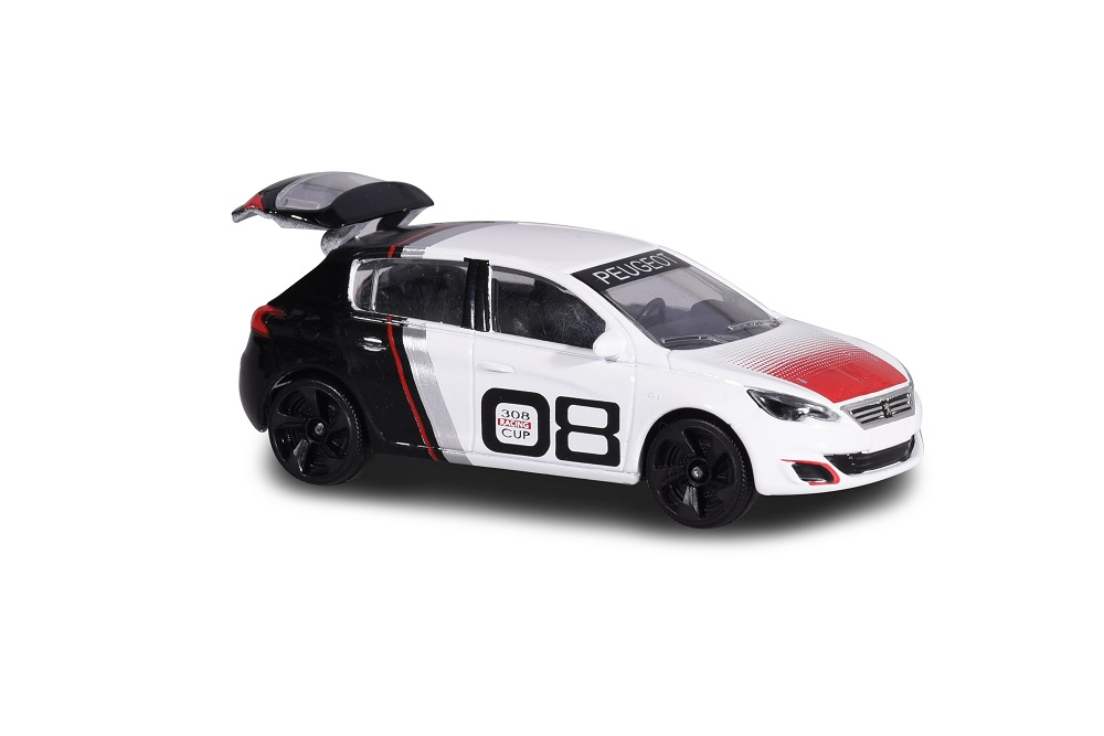 MAJORETTE 212084009-Racing Cars-PEUGEOT 308 Racing Cup-NUOVO
