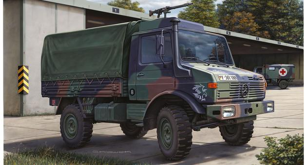revell 03082 1 35 lkw 2t tmil gl unimog bundeswehr neu. Black Bedroom Furniture Sets. Home Design Ideas