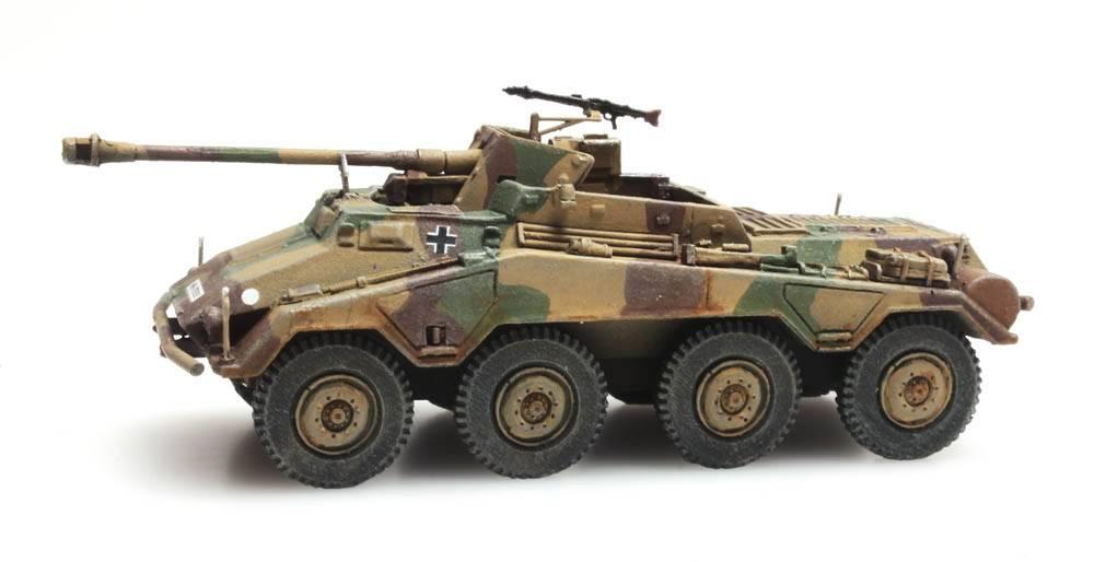 Neu SdKfz 234//4 Camouflage Artitec 6870197-1//87 // H0 WWII Dt