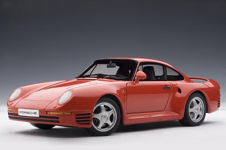 Autoart 78082 - 1/18 Millennium PORSCHE 959 (Red) 1986