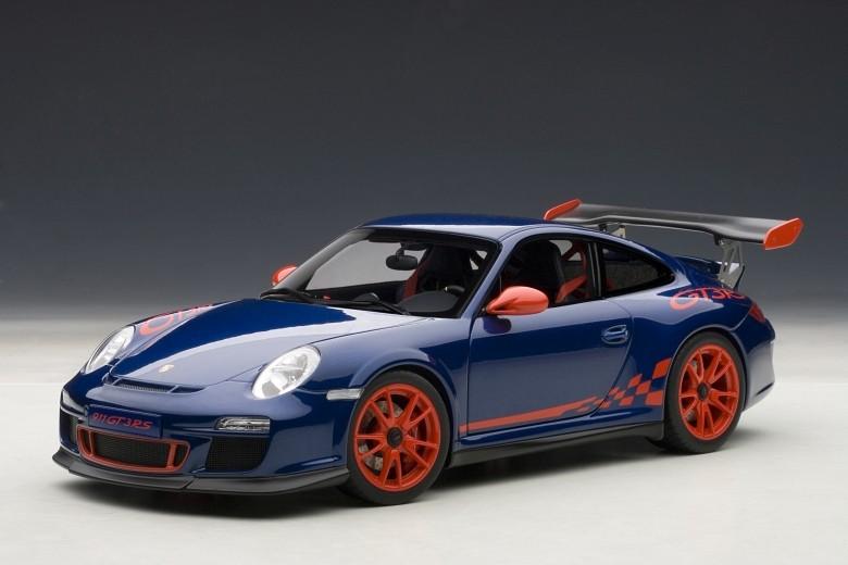 AUTOart 78144 - 1 18 performances PORSCHE 911 (997) gt3 RS 3.8 (Aqua bleu metalli