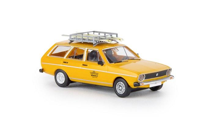 "Brekina VW Passat Variant /""voelkl Ski-Team/"" #25611 1:87"