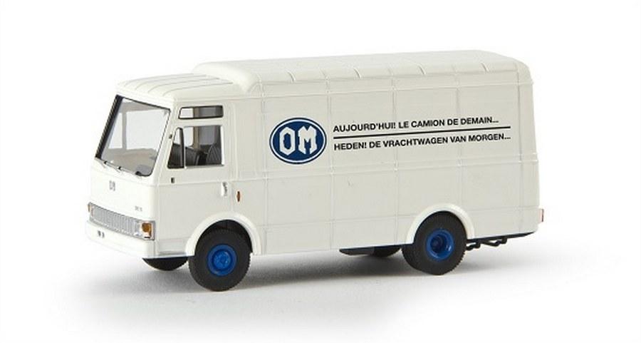 1//87 Brekina Zeta OM 70 Transporter 40 dealers in Nederland NL 34528