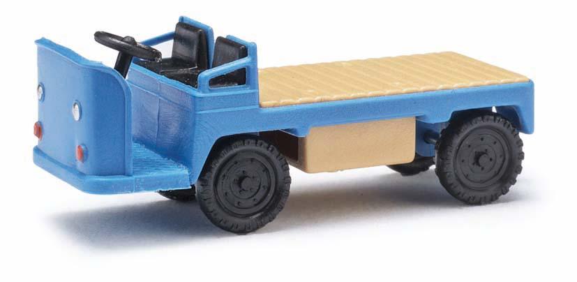 Blau H0 E-Karre Balkancar Busch 210010008-1//87 Neu