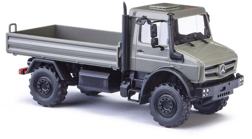 Busch 50902 MERCEDES unimog u430 vert h0 modèle mondes terminé modèle 1:87