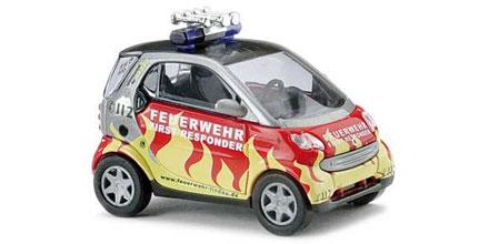 Busch H0 48938 Smart Fortwo Feuerwehr NEU /& OVP