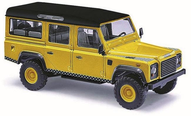 Busch 51930-1//87 H0 Land Rover Discovery Neu Metallica Blau