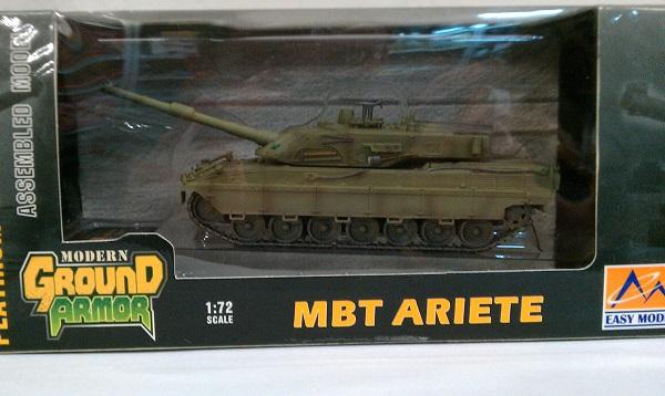 Easy Model 35013-1//72 Mbt Ariete Ei 118915 Neu