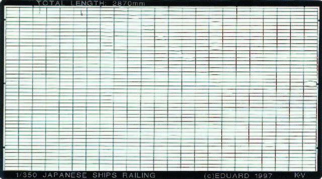 Eduard Accessories 99005-1:700 Us Navy Reling Neu Zubehör