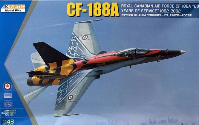 Kinetic K48079 - 1 48  CF-188A RCAF 20 years services  - Neu  | Attraktive Mode