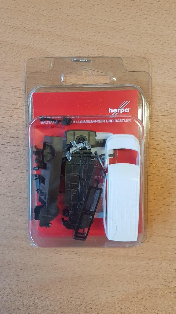 blanco 013598 1//87 Herpa minikit VW Crafter autobús techo alto