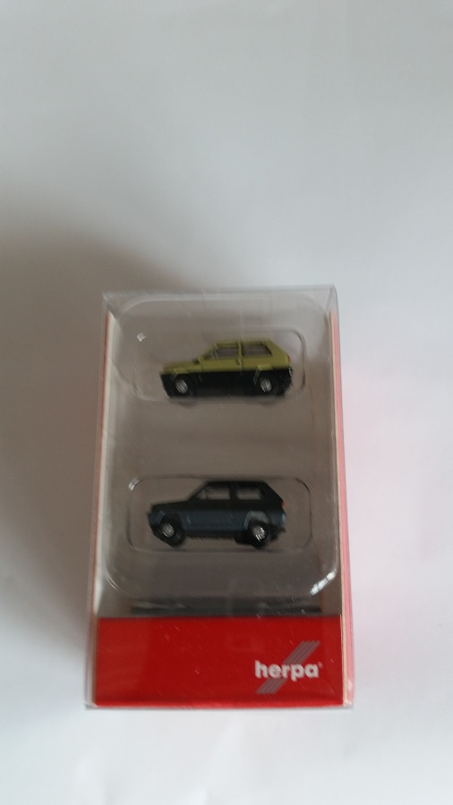 Herpa Opel Kapitän 452496 DKW Junior 451598 2er Set Magic beige H0 1:87 Neu OVP