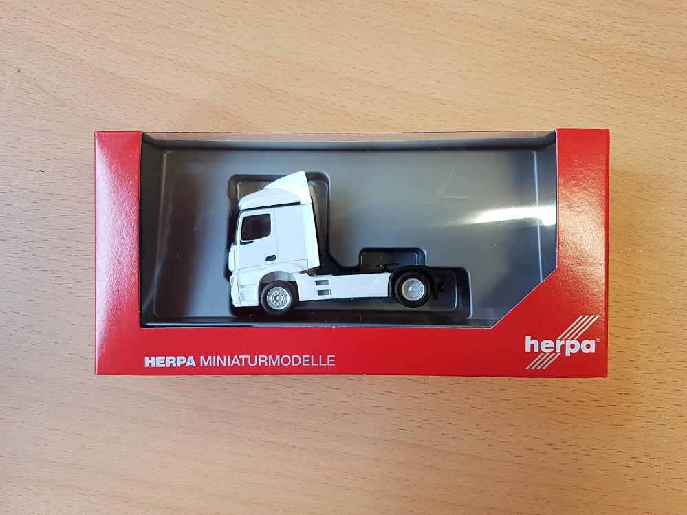 ladekran rojo Herpa camiones MB actros 11 streamspace material de construcción-Hz