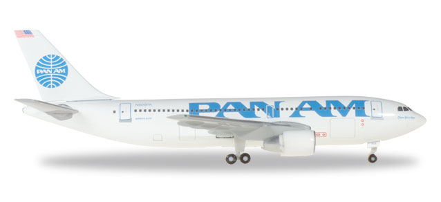 Herpa 500920-001 - 1/500 Airbus A310-200 - Pan Am - Neu