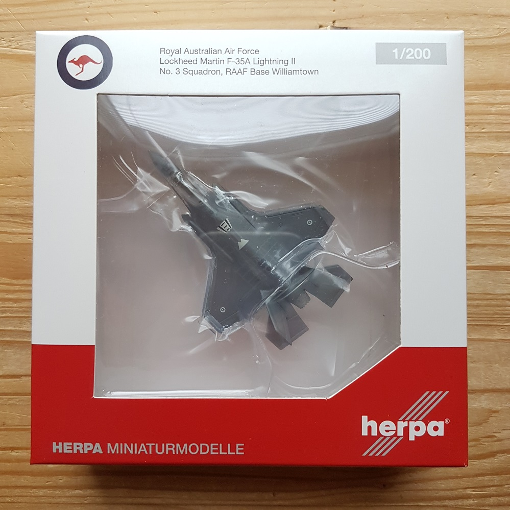 Herpa Wings 1:200 Lockheed f-35a Royal Australian a force no3 sqd 570534