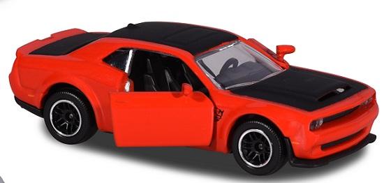 ° Majorette 212053052 dodge SRT viper rojo-Premium cars 1:64 maqueta de coche nuevo